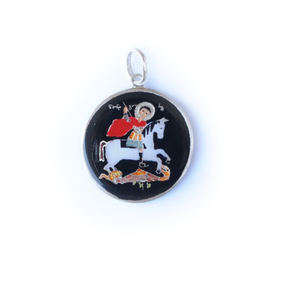 ball expand click silver pendant to full st george item florence motif from with de medici